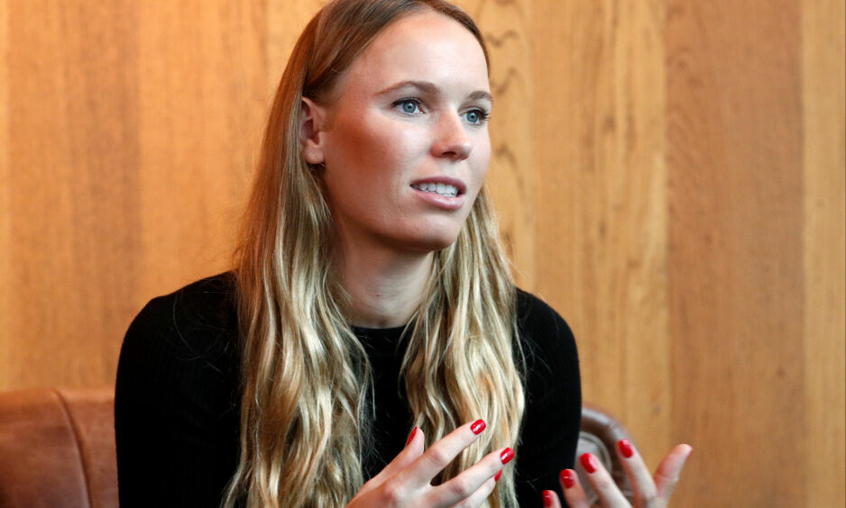 ÅPEN OM SYKDOMMEN: Den danske tennisyndlingen Caroline Wozniacki. Foto: Edgar Su/Reuters