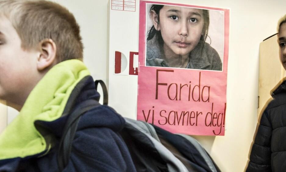 SAVNET: Farida har opprettholdt sin kontakt med lærere og elever på Dokka. Foto: Hans Arne Vedlog