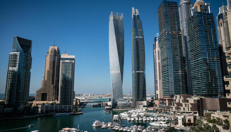NORDMENNS FAVORITT: En stor andel av nordmennne i Dubai-lekkasjen dukker opp i tilknytning til leiligheter på Dubai Marina.