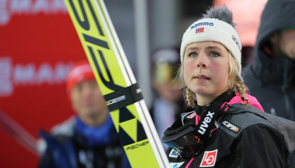 LUESLØNN: Det internasjonale skiforbundet (FIS) gir Maren Lundby tilnærmet luselønn i forhold til herrene. Foto: Geir Olsen / NTB scanpix
