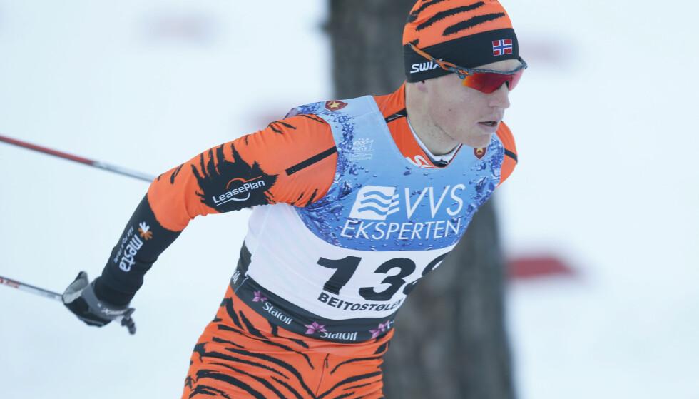 SEIER: Petter Eliassen vant Kaiser Maximilian Lauf i Seefeld lørdag. Foto: Terje Bendiksby / NTB scanpix