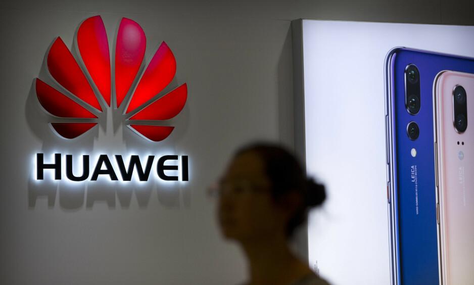 PROBLEMATISK: PST mener det er problematisk om Huawei får bygge ut 5G-nett i Norge. AP Photo/Mark Schiefelbein, File