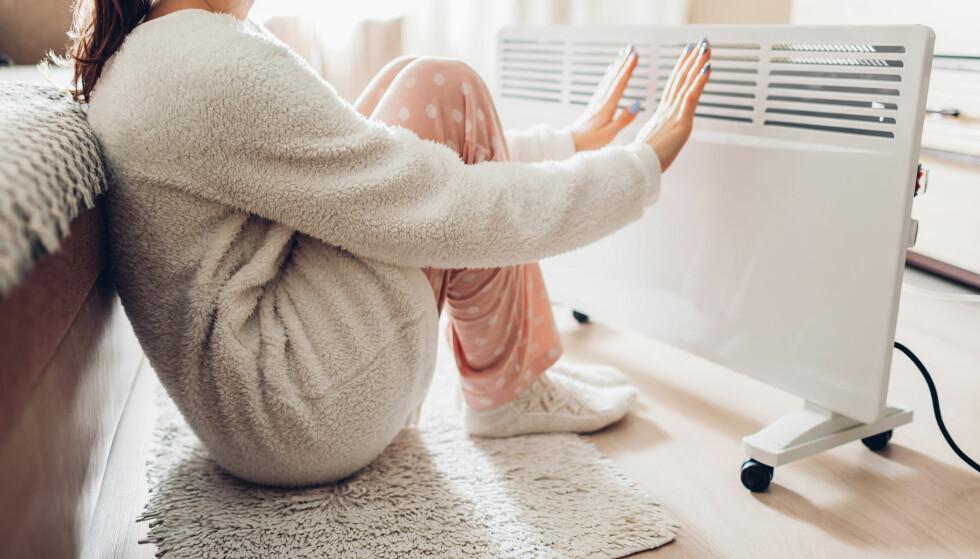 UNNGÅ HØY REGNING: Det er fort gjort å gå på en smell når temperaturen ute synker. Foto: Shutterstock
