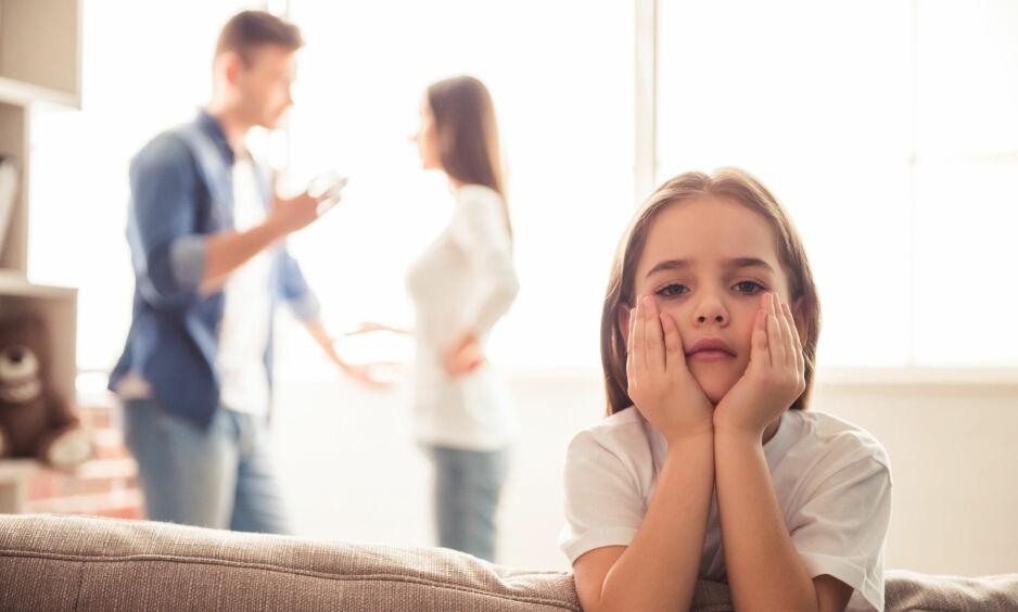 IKKE FOR ALLE: Forskning viser at etter et samlivsbrudd kan delt bosted være en god ordning for mange av barna, men ikke nødvendigvis for alle, skriver kronikkforfatterne. Foto: Shutterstock