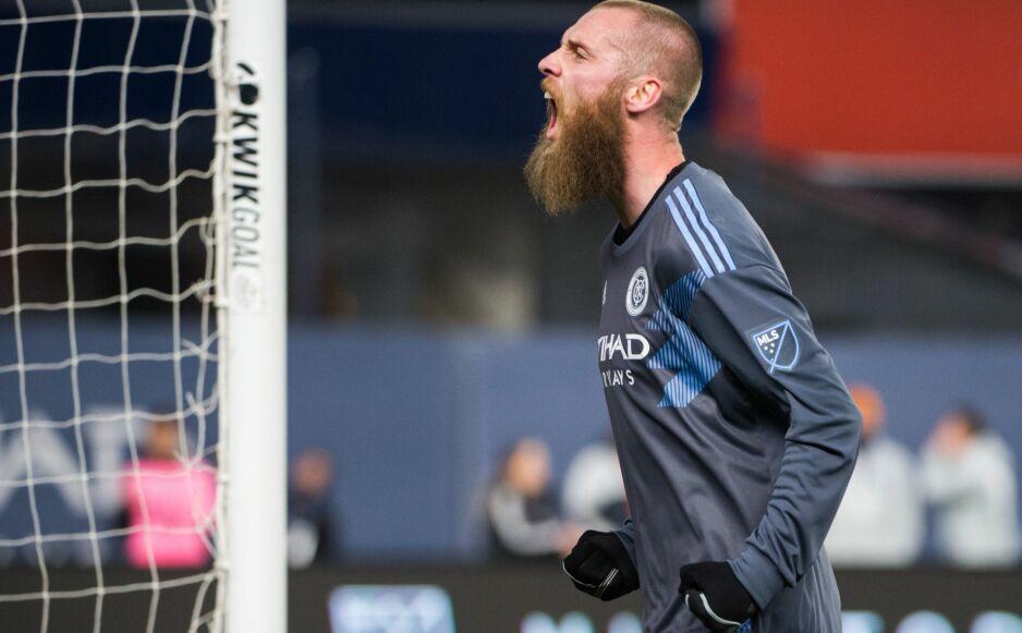 RBK-AKTUELL: Jo Inge Berget har vært i New York City FC det siste året. Nå ønsker han seg tilbake til Skandinavia. Ender han opp i Rosenborg? Foto: NTB scanpix