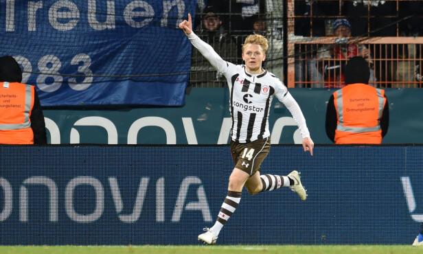 I SØKELYSET: St. Pauli-spiller Mats Møller Dæhli. Foto: NTB scanpix