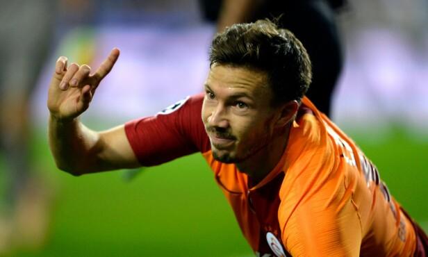 I SØKELYSET: Galatasaray-spiller Martin Linnes. Foto: NTB scanpix