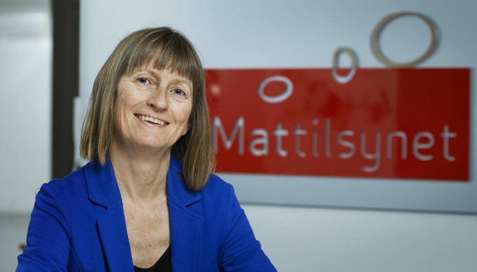 KONSTRUKTIVT: Seksjonssjef Merethe Steen i Mattilsynet er glad for at bakerbransjen nå følger opp, slik at merkingen blir korrekt.