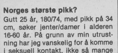 Norge kontaktannonser deilig dame i mysen ønsker å knulle gift mann enslige jenter som søker sex kompis i aust-agder
