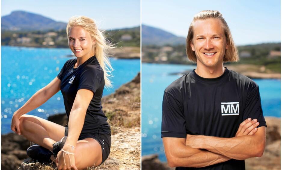 FIKK HJELP: «Mesternes mester»-profilene Kine Olsen Vedelden og Tom Hilde avslører at de fikk hjelp til å det store steget inn i parforholdet. Foto: Toke Riskjær, Rubicon TV/ NRK