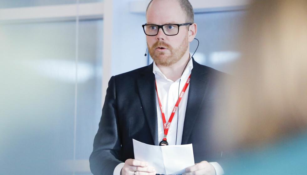 PRESSES: Nok en VG-sak kan skape bry for sjefredaktør Gard Steiro. Nå er avisa klaget inn til PFU av Laila Anita Bertheussen. Foto: Fredrik Hagen / NTB scanpix