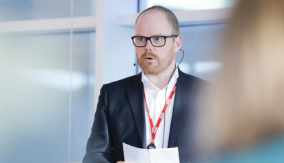 - INGENTING Å SKJULE: Administerende og ansvarlig redaktør i VG, Gard Steiro under gjennomgangen av medieåret 2018. Foto: Fredrik Hagen / NTB scanpix