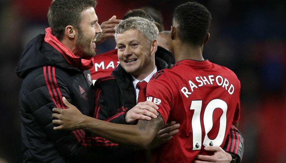 ENDRET PLANENE: Manchester United skulle egentlig låne ut flere av klubbens unggutter, men endret planene. Håpet er at akademispillerne kan gripe sjansen og blomstre slik som formspiller Marcus Rashford. Foto: Tim Ireland / AP Photo / NTB Scanpix