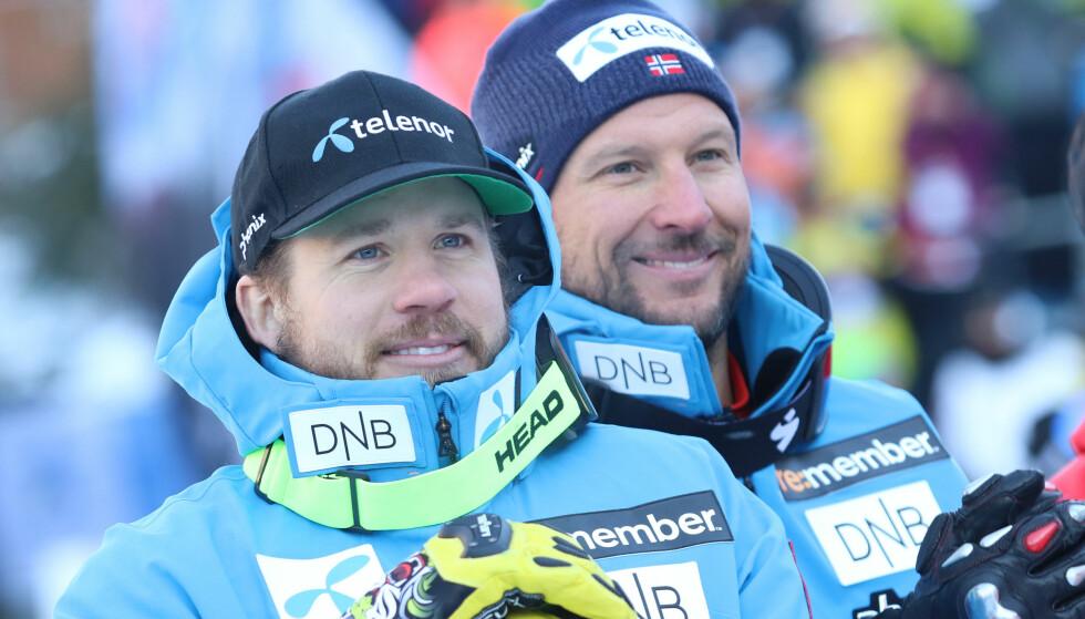 BRUDD: Kjetil Jansrud har brukket to fingre, skriver NRK. Foto: NTB scanpix