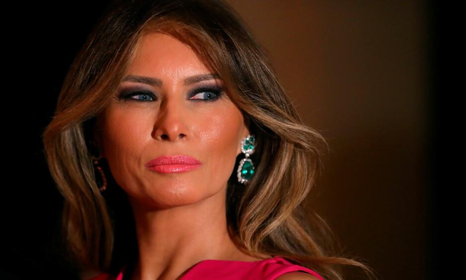 FÅR OPPREISNING: Melania Trump (48) har på nærmest rekordfart fått storavisa The Daily Telegraph til å slå full retrett. Foto: Carlos Barria / Reuters / NTB Scanpix