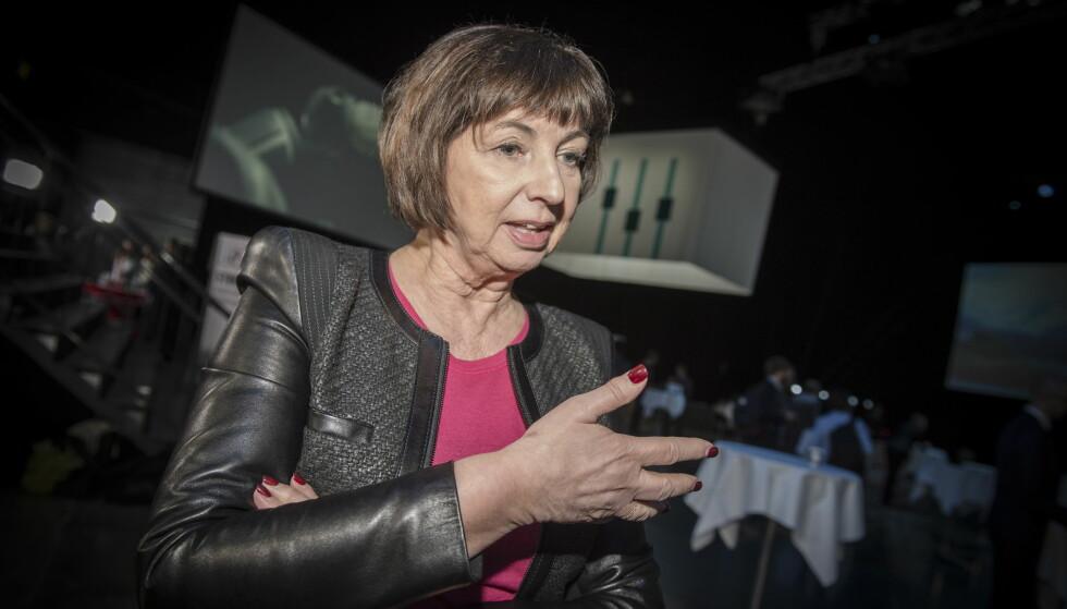 TRYGDESVINDEL: Nav-direktør Sigrun Vågeng sier de anmeldte 968 personer for trygdesvindel i løpet av fjoråret. Foto: Øistein Norum Monsen