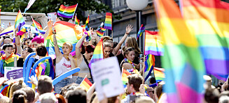 Det er ikke obligatorisk å delta på Oslo Pride