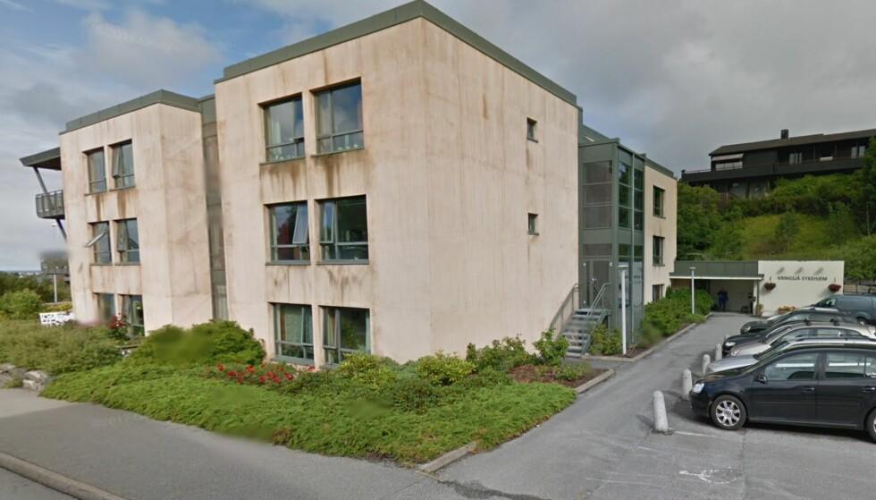 RYSTET: Fylkeslegen i Møre og Romsdal mener Kristansund har brutt flere lover og forskrifter og har for lav bemanning vedKringsjå sykehjem. Foto: Google maps