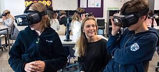VR-teknologi kan gi guttene matte-løft