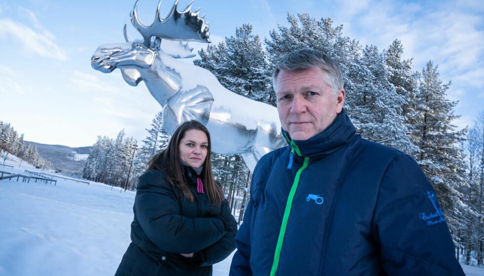 TAPERNE?: Det ser mørkt ut for Storelgens framtid som verdensrekordholder. Nå ønsker Stor-Elvdal kommune å sende en delegasjon til Moose Jaw i Canada for å se på mulighetene til et elg-forlik. Foto: Øistein Norum Monsen/Dagbladet.