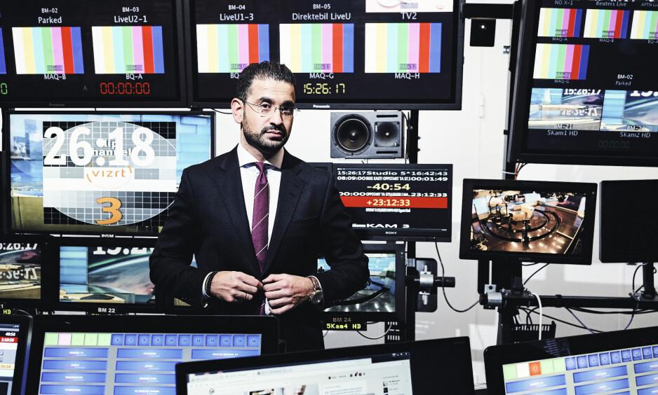 REAGERER: Yama Wolasmal mener han og familien blir satt i bås med jihadister og terrorister av den innvandringskritiske nettavisa Resett. Foto: Morten Rakke / Dagbladet
