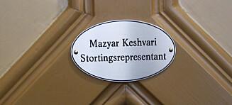 Derfor bør Keshvari fortsette som stortingsrepresentant