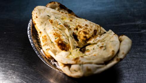 NAM NAN: Nanbrød og raita er knallgodt på New Dehli, mener anmelderne.
