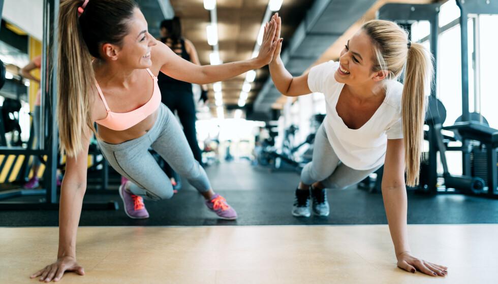 EFFEKTIVT MOT BUKFETT: En studie viser hvordan trening kan redusere bukfettet - eller «det farlige magefettet», som det blir kalt. Foto: Shutterstock / NTB Scanpix