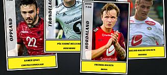 De 50 beste fotballspillerne i hvert av Norges 18 fylker