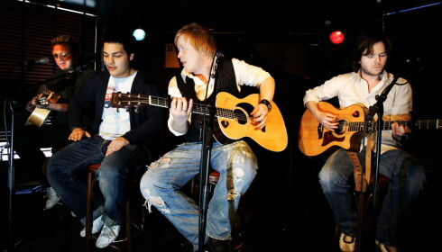 GJENFORENES: Lind, Nilsen, Fuentes og Holm skal ha konsert i Oslo Spektrum. Foto: Frank Karlsen / Dagbladet