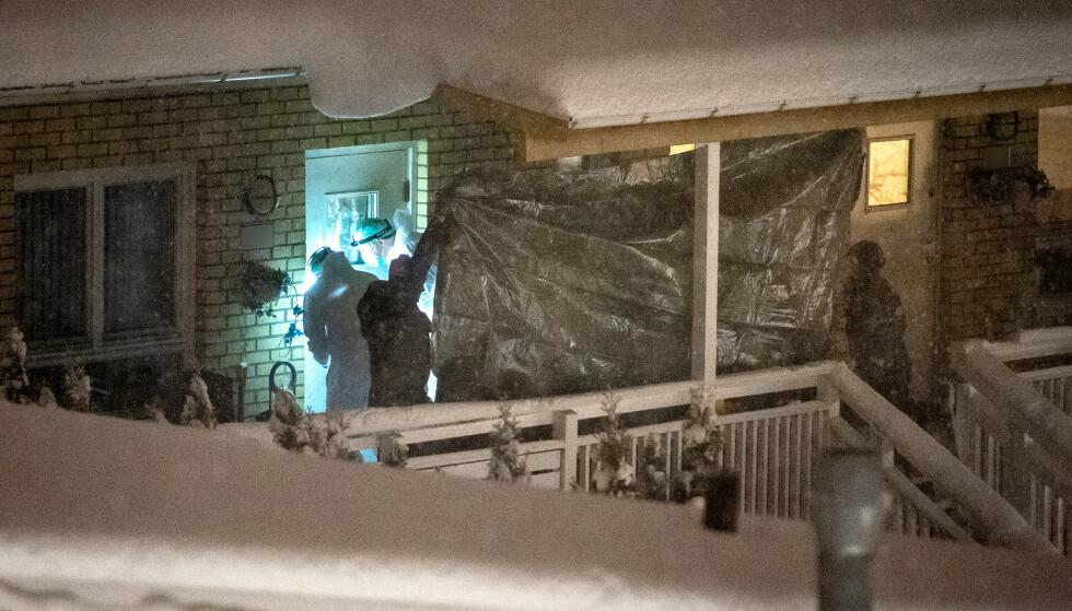DREPT: 42 år gamle Ramilem Kamal ble drept i sin egen leilighet på Bjørndal i Oslo. Hennes nærmeste nabp er siktet for drapet. Foto: Øistein Norum Monsen / Dagbladet