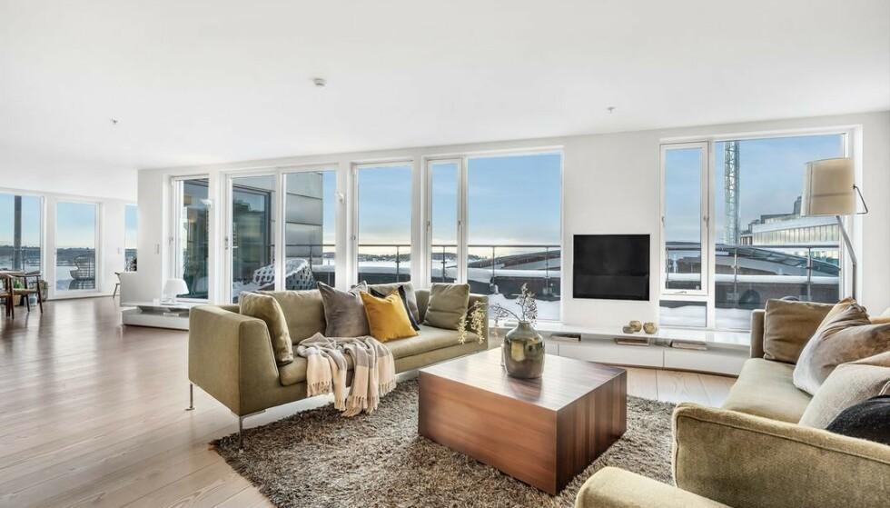 SELGER: Denne leiligheten kan bli din for 70 millioner kroner. Foto: Oh Shots