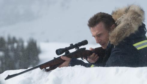 HEVNFILM: Cold Pursuit har åpningshelg denne uka. Foto: NTB Scanpix