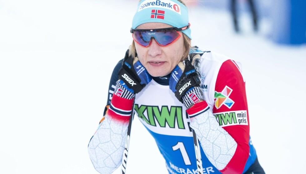 Maiken Caspersen Falla. Foto: Terje Pedersen / NTB scanpix