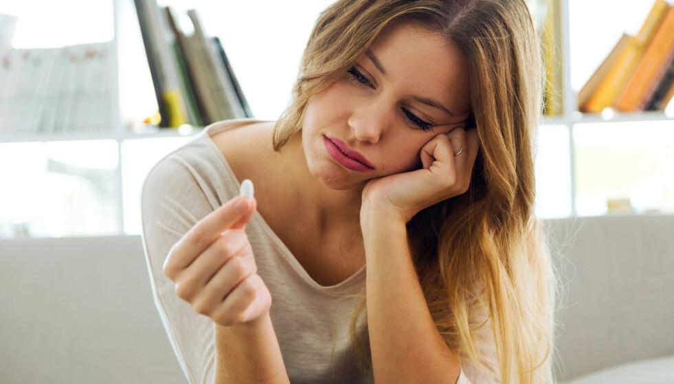 VALG AV ANTIDEPRESSIVA: Skal du bruke medisiner mot depresjoner viser forskning at noen er mer effektive enn andre, men det er viktig å være klar over at ikke alle har effekt - og at bivirkningene kan være mange og alvorlige. Foto: NTB Scanpix
