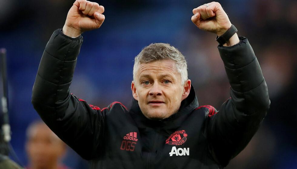 MØTER PSG: Manchester United har sett ut som et nytt lag under Ole Gunnar Solskjær. PSG-manager Thomas Tuchel har fått med seg forvandlingen under nordmannens ledelse. Foto: NTB scanpix