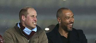 Carew letter på sløret om vennskapet til prins William