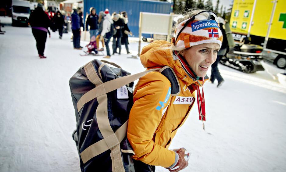 ALDRI SYK: Therese Johaug er uvanlig lite syk. Nå gir hun sine beste råd. Foto: Bjørn Langsem / Dagbladet
