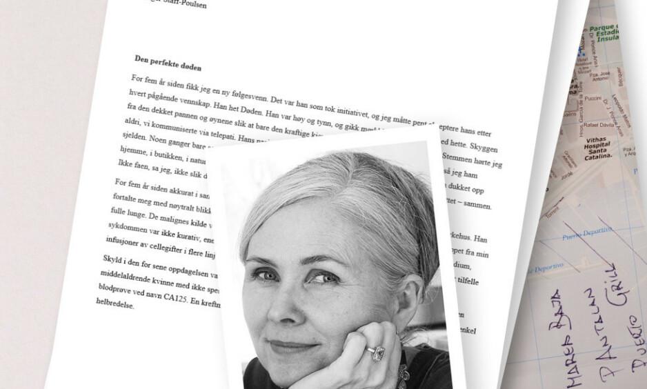 VANSKELIG DEBATT: Inger Staff-Poulsen ønsket aktiv dødshjelp da hun ble uhelbredlig kreftsyk, men det er ulovlig i Norge. Hun skrev en kronikk om teamet, som ble publisert i Dagbladet den 2. februar.