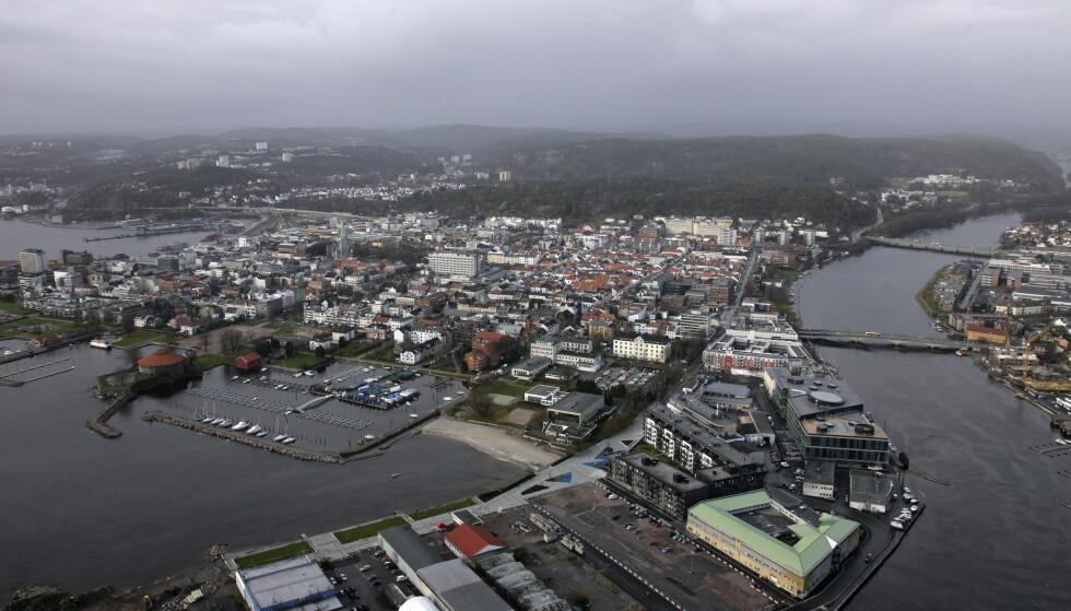 BRØT SEG INN: Den 23 år gamle kvinnen og en mann brøt seg inn i en leilighet i Kristiansand sentrum. Til slutt gjemte de seg i boden i leiligheten. Foto: Tor Erik Schrøder / SCANPIX