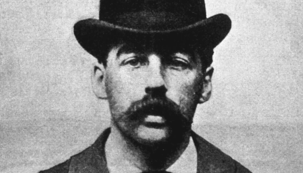 SERIEMORDER: H.H. Holmes het egentlig Herman W. Mudgett, og var Amerikas første seriemorder. Foto: Wikimedia Commons