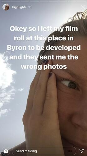FEIL BILDER: Det var ikke bildene til den svenske 21-åringen som ble tilsendt fra fotobutikken. Foto: NTB scanpix