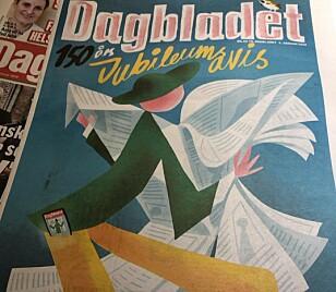 DIGITALSUKSESS: Dagbladets gode, gamle papirgutt ble heldigital til 150-årsjubileumet.
