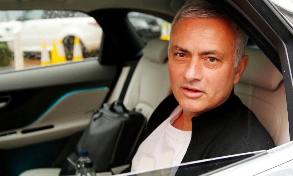 SPARKET: José Mourinho ble i desember sparket av Manchester United og erstattet av Ole Gunnar Solskjær. REUTERS / Phil Noble / NTB Scanpix