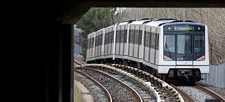 Ran på T-banen: «Dreper deg»