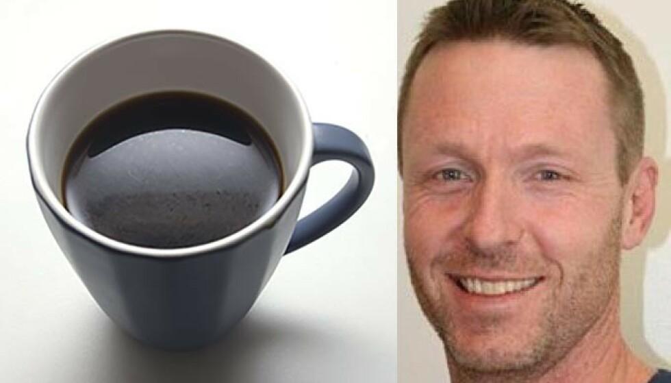 BLÅLYS: At nordmenn opplever økende søvnproblemer kan skyldes flere ting. Enkelte bør slutte å drikke kaffe etter lunsj, mener søvnforsker Børge Sivertsen. Foto: Scnpix/FIH