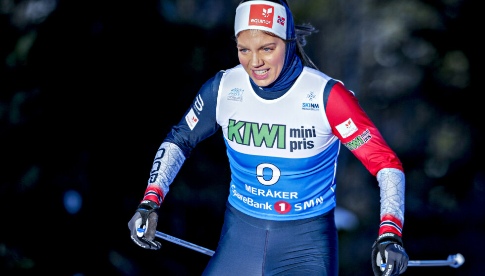 ANNERLEDES TYPE: Kristine Stavås Skistad står for helt andre skiferdigheter enn de fleste andre norske skijenter på landslaget. Foto: Bjørn Langsem / Dagbladet