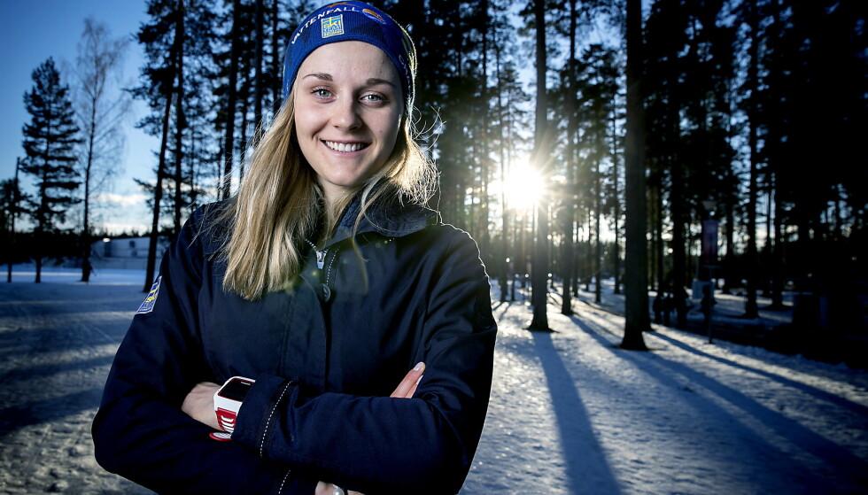 BEST: Stina Nilsson er verdens beste langrennssprinter. Hun skjønner hvorfor Kristine Stavås Skistad sammenliknes med henne. Foto: Bjørn Langsem / Dagbladet