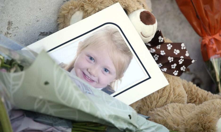 DREPT: Seks år gamle Alesha MacPhail ble funnet drept 2. juli i fjor. Denne uka startet rettssaken mot 16-åringen som er tiltalt for å ha drept henne. Foto: Pa Photos / John Linton