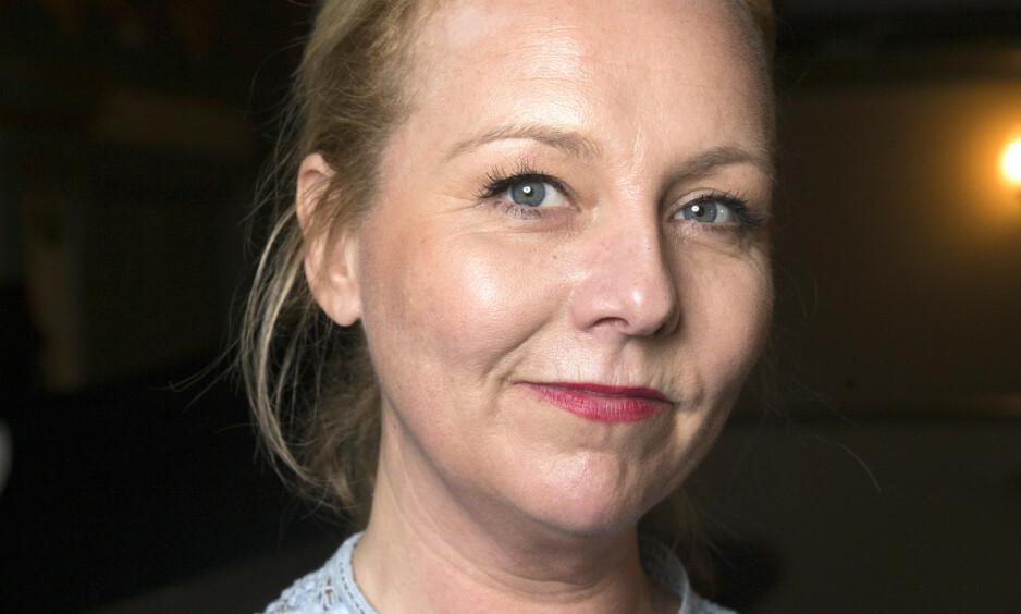SKADET: Linn Skåber har skadet seg, og avlyser derfor forestillingen. Foto: NTB Scanpix